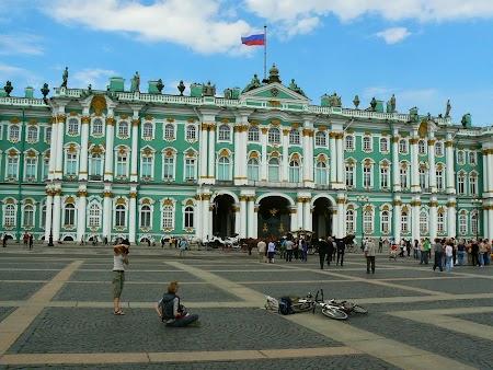 Obiective turistice Rusia: Muzeul Ermitaj St. Petersburg