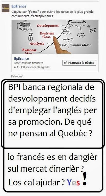 BPI finança l'emplec de la lenga anglesa