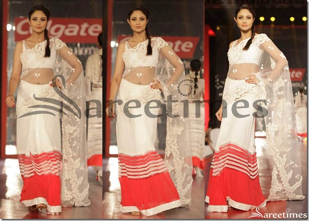 Manish_Malhotra_White_Shimmer_Saree