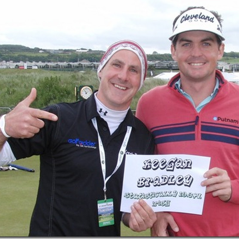 Keegan Bradley Statistically 19.34% Irish. Might Play For Europe In Ryder Cup!