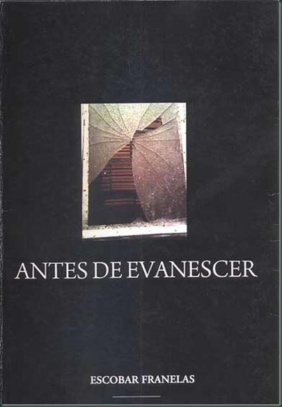 ECLA-LIVRO ANTES DE EVANESCER