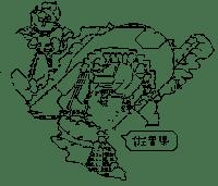 佐賀県淑女 (県地図擬人化ネタ)