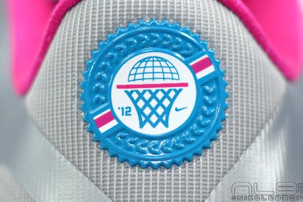 The Showcase Nike LeBron 9 Low WBF London Fireberry