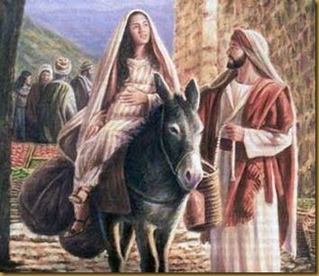 MARIA Y JOSE EN BELEM