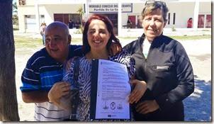 Araceli Purita , de la comisión de festejos de la Náutica y el Mar expresó su felicidad por ser la entidad una de las impulsoras de la iniciativa