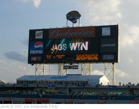 'Jags Win' photo (c) 2007, Joe Shlabotnik - license: http://creativecommons.org/licenses/by/2.0/