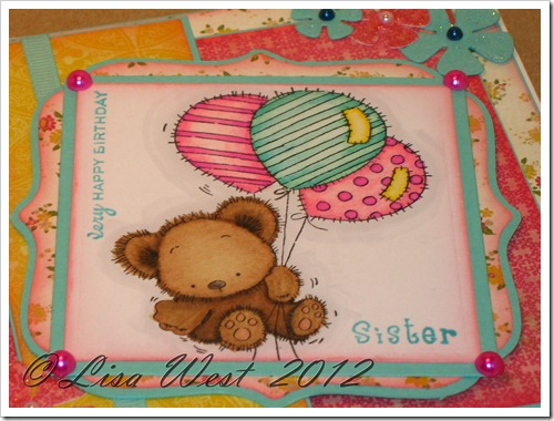 Patchwork Bunch of Balloons Card (1)