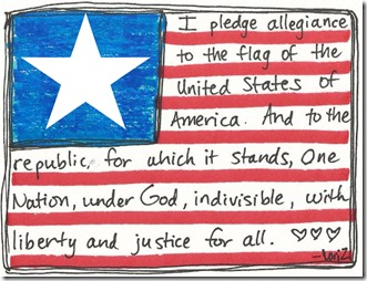 flag illustration from mudpiestudio.blogspot.com