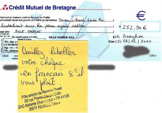 Chèc en Breton