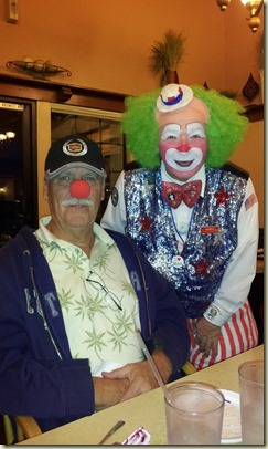 Ken Bauer & Clown