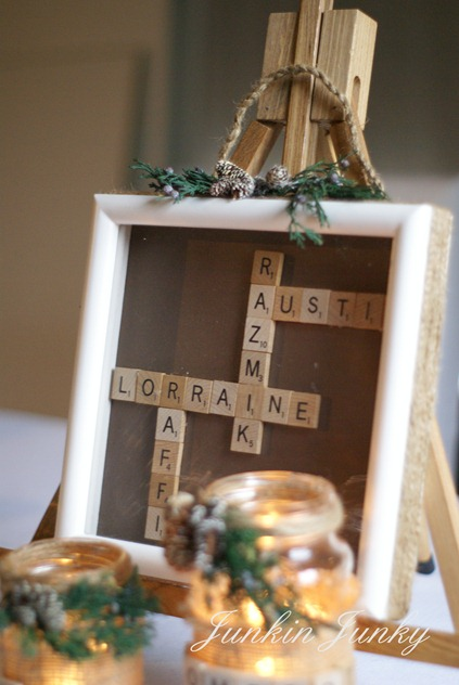 scrabble tiles at www.junkinjunky.blogspot.com