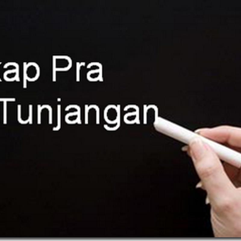 Download REKAP PRA SK TUNJANGAN PROFESI 2014 PER TANGGAL 30 MARET 2014