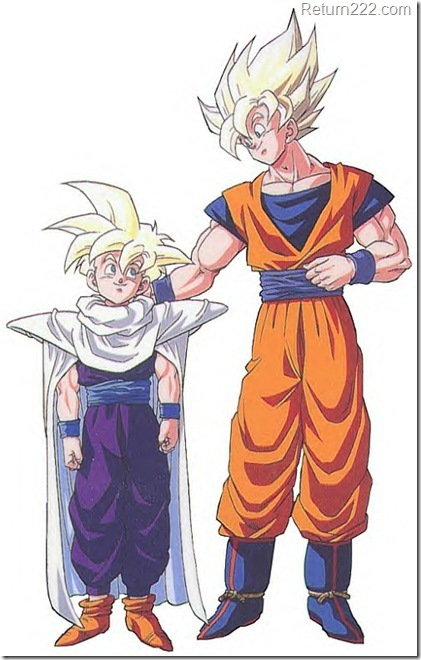 Goku_pats_Gohan_on_the_Back