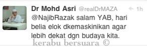 Terkini! Dr Asri Tegur Najib Berhubung Acara Sambutan Hari Belia
