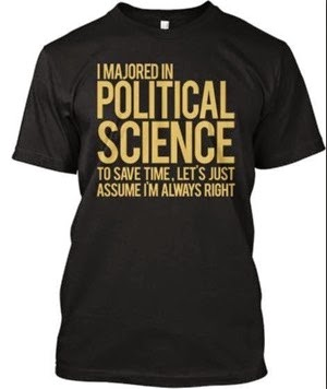 Powerline Political Science shirt