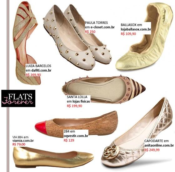 Moda para Reveillon: Aposte no conforto das Sapatilhas na hora de compor o look.