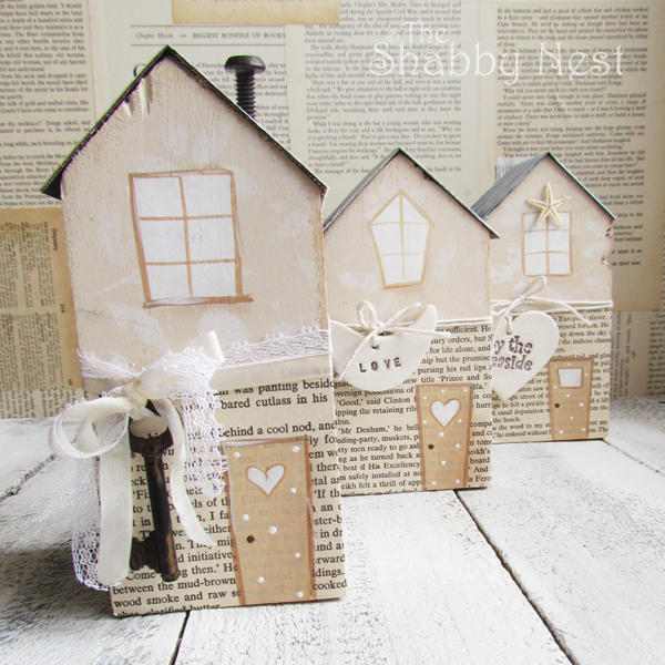 The Shabby Nest - House Blocks