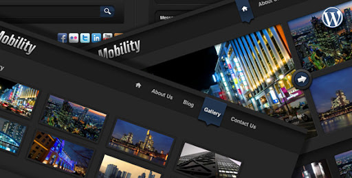 Mobility Wordpress Theme for Web and iPad - Business Corporate