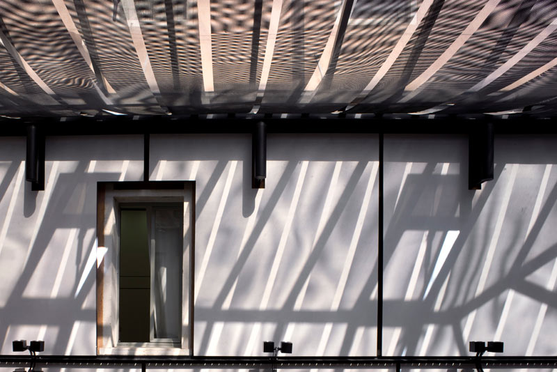 Progetto di Mario Botta Corte coperta 2 particolare ©ORCH chemollo