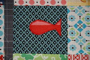 Sew Euro bee an November Linda Block 2 detail