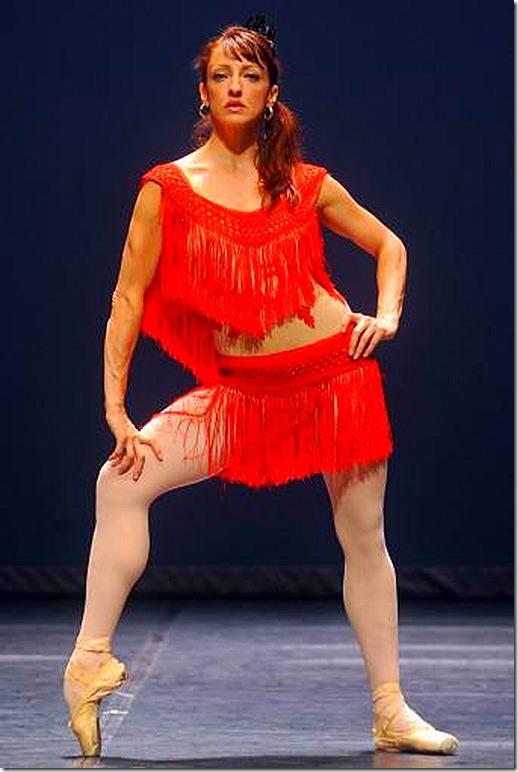 Lorena_Feijoo -- Lorena Feijóo, del Cuban Classical Ballet of Miami, durante el ensayo en El Escorial.- ANDRÉS DE GABRIEL