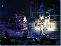 0731 Alberta Calgary Stampede 100th Anniversary - Scotiabank Saddledome - Brad Paisley Virtual Reality Tour Concert - Brad & Kimberly Perry singing Whisky Lullaby