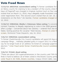 VoterFraudNewsList