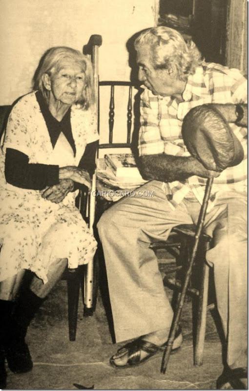 Cora Coralina e Jorge Amado
