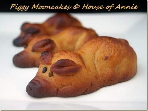 Piggy Mooncakes