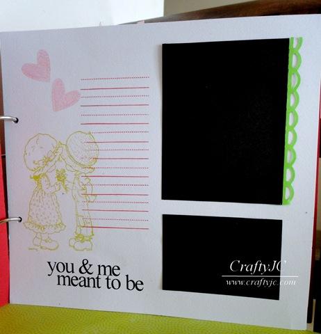 Anniversary Scrapbook CraftyJC 3