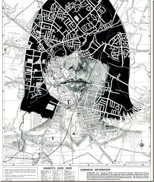 Portraits dessinés sur les cartes par Ed Fairburn (5)