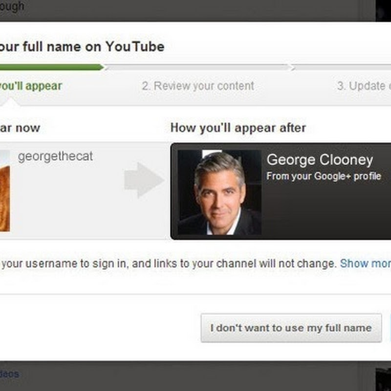 How to Stop YouTube From Asking You to Use Your Real Name?