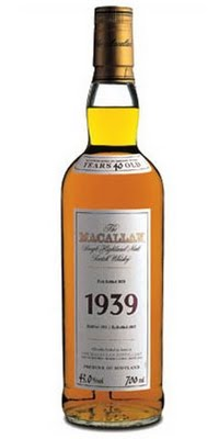 Cost of Hard drinks from Ladybank Single Malt to The Macallan 1926 Fine and Rare