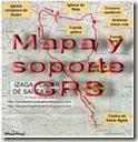 Mapa y soporte GPS -Cerro de las Balsas - Alicante