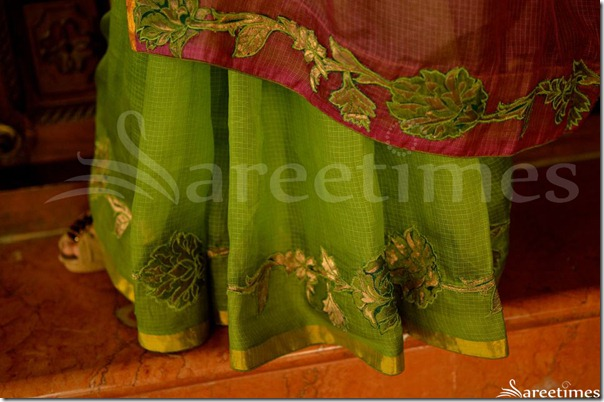 Green_Designer_Embellished_Saree