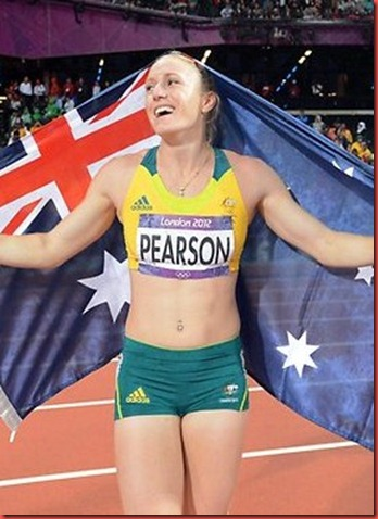 Golden girls Anna Meares and Sally Pearson