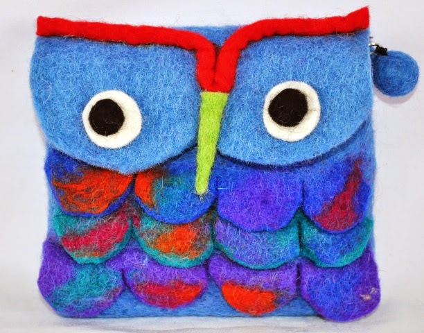 Felt Wool Coin Purse