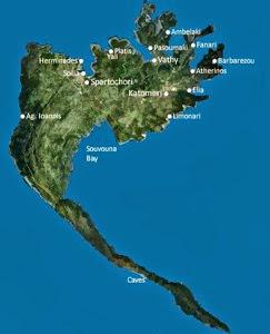 Map meganissi