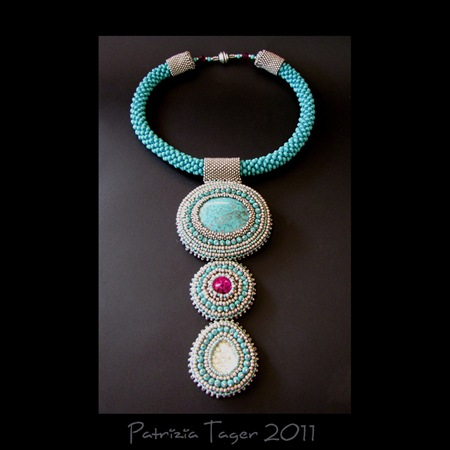 Tropical Waters - Necklace 01 copy