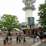 N Seoul tower in Korea in Seoul, Seoul Special City, South Korea