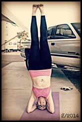 February headstand