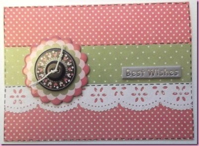Spotty Button Card