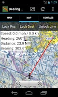 Screenshot of Bearing+Distance EC
