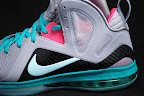 nike lebron 9 ps elite grey candy pink 8 08 LeBron 9 P.S. Elite Miami Vice Official Images & Release Date