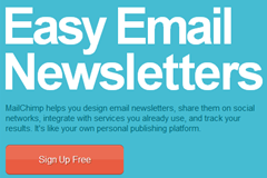 mailchimp signup free