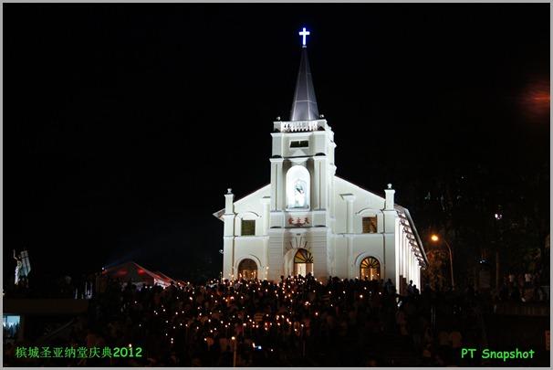 教堂与烛光