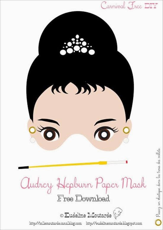 MlleMoutarde_masque_AudreyHepburn