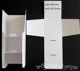 cake box surprise box - Lid SDS - Ruthie Lopez DT 9