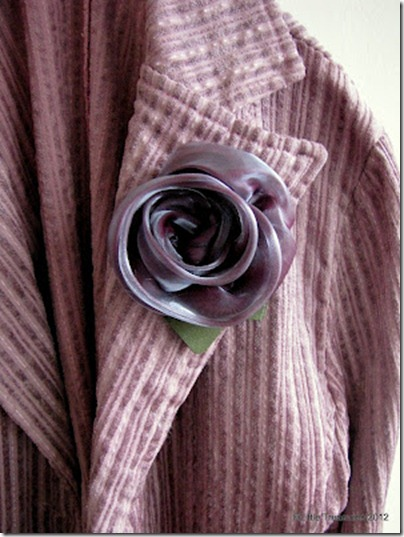how to make organza flowers roses