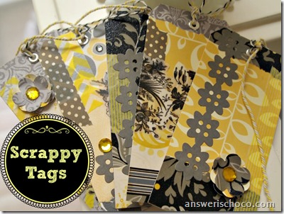 Scrappy Tags